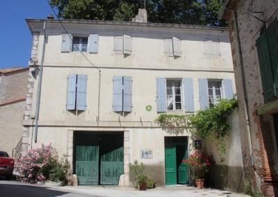 Côté rue Estagel